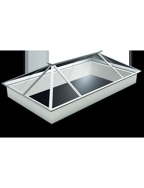2500 x 2000 Atlas Aluminium Roof Lantern