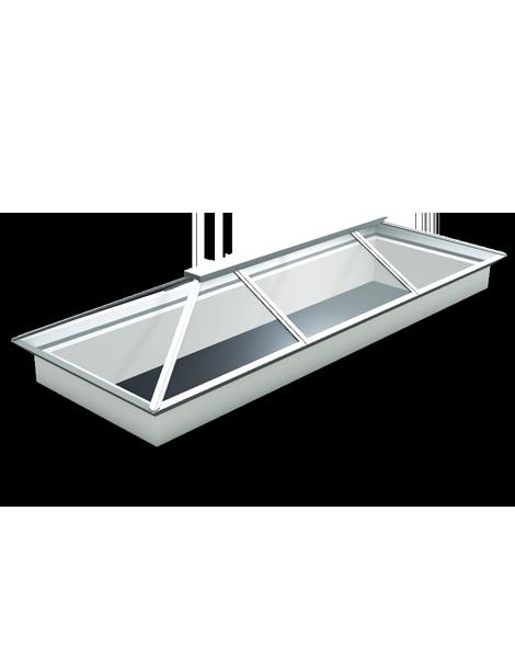 4000 x 1000 Atlas Aluminium Roof Lantern