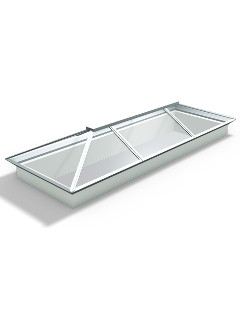 2500 x 1000 Atlas Aluminium Roof Lantern