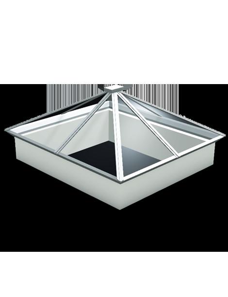 2500 x 2500 Atlas Aluminium Roof Lantern