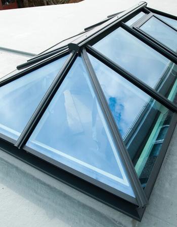 2500 x 1500 Atlas Aluminium Roof Lantern