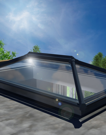 2000 x 1000 UltraSky Aluminium Roof Lantern