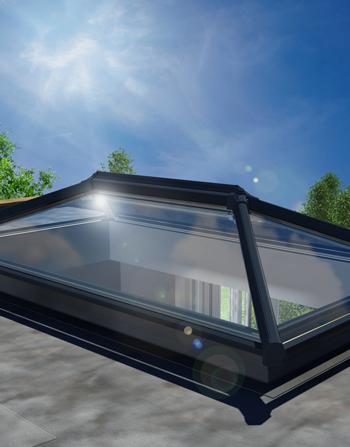 3500 x 1500 UltraSky Aluminium Roof Lantern