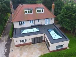 4000 X 1500mm Korniche Aluminium Roof Lantern